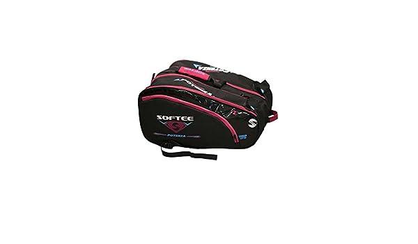 Softee - Bolsa de deporte para pádel mujer rosa: Amazon.es ...
