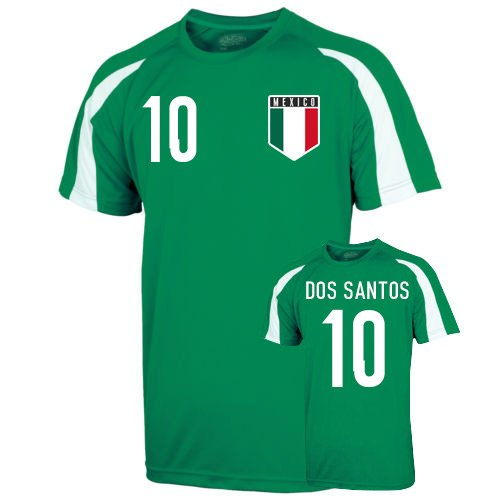 Mexico Sports Training Jersey (dos Santos 10) B01NBE8MNGGreen XL (45-48\
