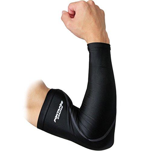 ナプキン参照粘液PONTAPES(ポンタペス) コンプレッションウェア アームスリーブ 腕カバー 左右1対 抗菌防臭?UV加工 PCG-602