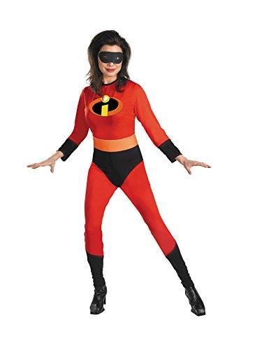 [Morris Costumes Women's MRS INCREDIBLE ADULT 12-14] (The Incredibles Mrs Incredible Costumes)