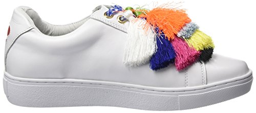 Tassels Sole Women's White Nappa of New Sneaker in Colours White California Trainers wHROqxnp