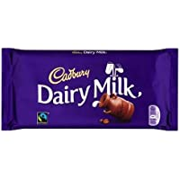 Cadbury Dairy Milk Chocolate, 100g