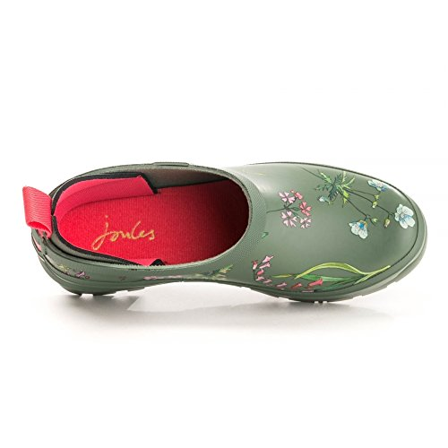 Boots Botanical Womens Laurel Rain Welly Clog Slip Joules On PTywHqwB6