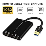 HDMI Capture,HDMI to USB 3.0,Full HD 1080P Live