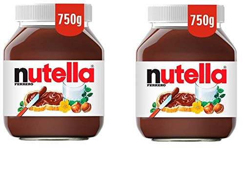 Nutella Hazelnut Spread With Cocoa 750g Pack Of 2 Amazon In