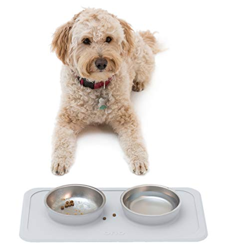 Ono Good Bowl Double Feeder - Small to Medium Pets (Cool -