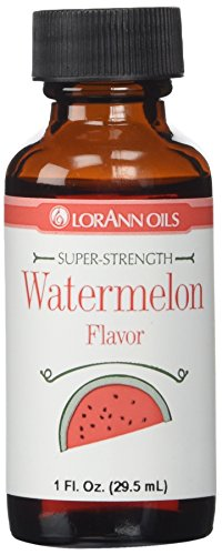 Lorann Hard Candy Flavoring Oil Watermelon Flavor 1 Ounce