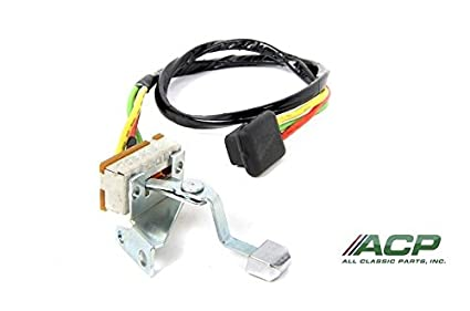 amazon com 1965 66 heater blower motor switch after 4 1 65 with 7 pin wiring harness 1965 66 heater blower motor switch after 4 1 65 with knob amd