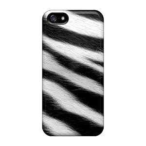 USMONON Phone cases For Iphone Case, High Quality Zebra Fur For Iphone Iphone 5 5s Cover Cases