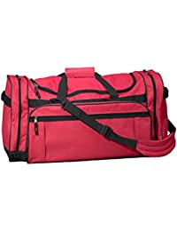 Explorer Large Duffel Bag (3906)- RED, OS