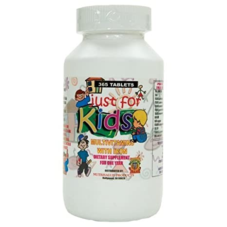 Amazon.com: Vitaminas para nios Just for Kids. Suplemento para todo ...