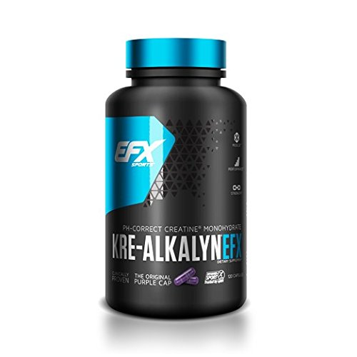 EFX Sports Kre-Alkalyn EFX, 120 Capsules