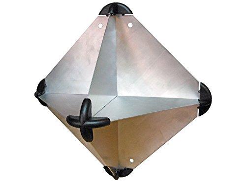 Amarine-made Boat Marine Anodized Aluminum Emergency Radar Reflector for Sailboats - 8-1/2