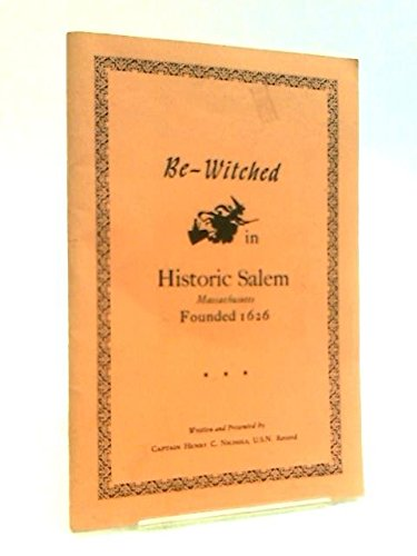 Be-Witched in Historic Salem Massachusetts - Founded 1626