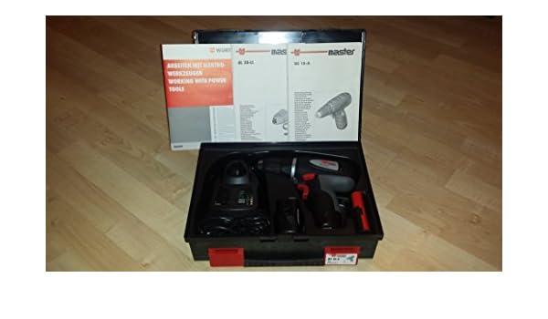 Würth batería-TALADRO ATORNILLADOR de 10 A con 2 x batería y Cargador: Amazon.es: Bricolaje y herramientas