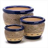 Best Gifts & Decor Garden Gifts - Gifts & Decor Cobalt Planter Ceramic Garden Plant Review
