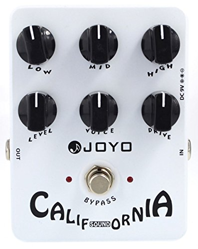 Joyo JF-15 California Sound Boogie MKII Tone Pedal US Dealer w/ 2 Patch Cables