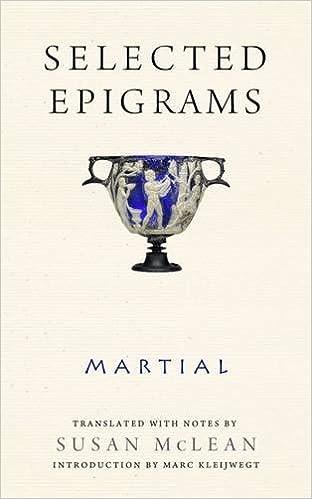 Selected Epigrams (Wisconsin Studies in Classics)