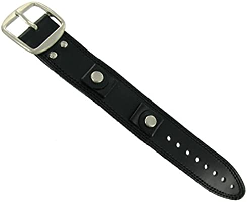 Wrist Cuff Watch Band - Waterproof, Genuine Leather, Cool