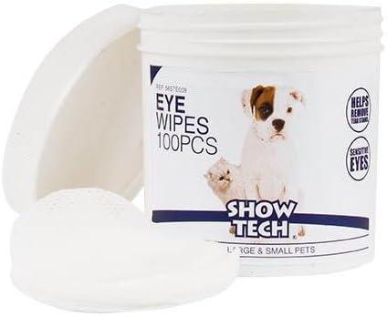 Discos limpiadores de ojos 100 und