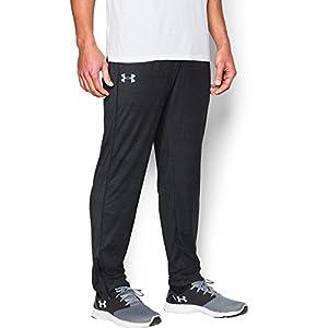 Under Armour Men's Tech Pants, Black/Steel, Large