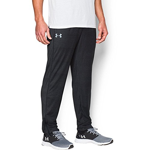 Under Armour Men's Tech Pants, Black/Black, Small