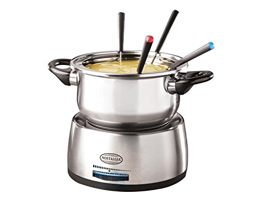 082677217103 - Nostalgia FPS200 6-Cup Stainless Steel Electric Fondue Pot carousel main 4