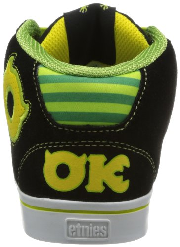 Etnies Kinder Schuhe Disney Monsters Uni RVM Black / Green Oozma Kappa OK 27,5