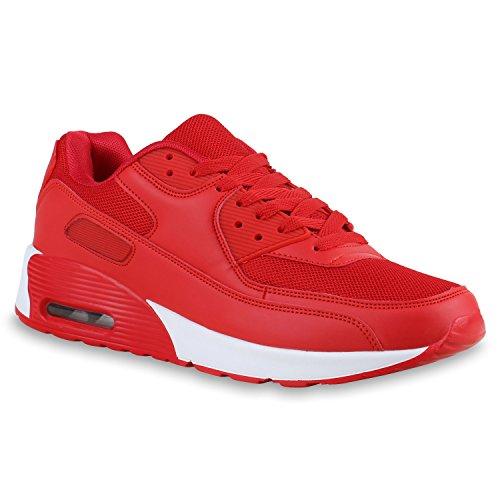 Bottes Paradis Unisexe Hommes Chaussures De Sport Course Sur La Taille Flandell Blanc Rouge