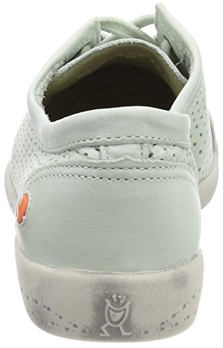 Softinos Damen Grün Pastel Washed Ica388sof Green Sneaker wwfxZR1qr