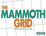 Mammoth Grid 2020 Wall Calendar