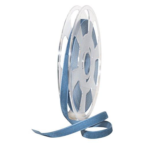 Morex Ribbon 01210/10-536 Nylvalour Velvet Ribbon, 3/8