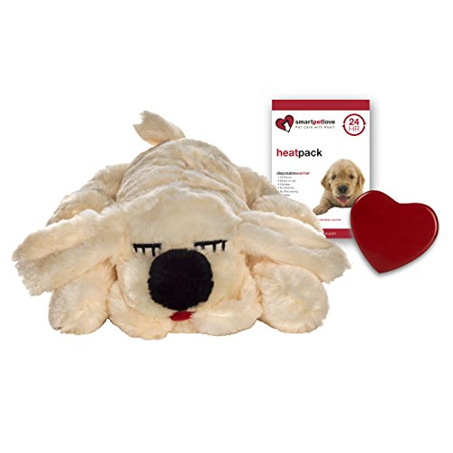 SmartPetLove Snuggle Puppy Behavioral Aid Toy, Golden