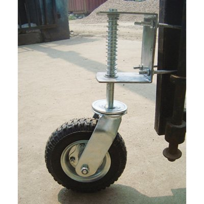 Gate Wheel with Suspension - 210-Lb. Capacity, 8in. Pneumatic Tire, Model# CT-GW01