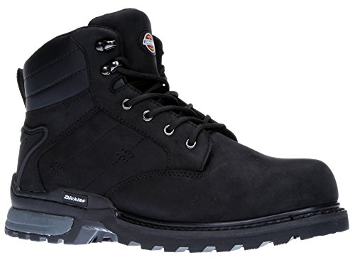 Canton Cap Boot Toe Black FD9209 Work Steel Dickies F6nfqWTT