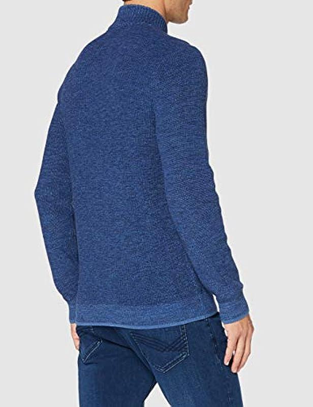 Camel Active męski sweter (4095094k0944), kolor: grantowy , rozmiar: xl: Odzież