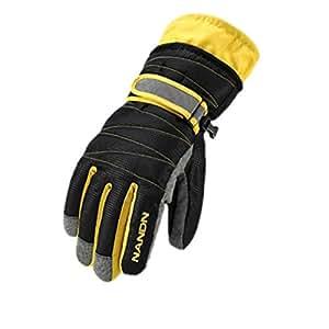 Amazon.com : kel&df Ski Gloves Snowboard Gloves Snowmobile
