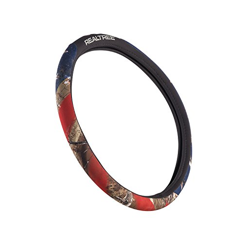 Realtree Camo Steering Wheel Cover | Edge/Americana | Truck Hunting & Shooting Equipment, Edge/Americana, Single