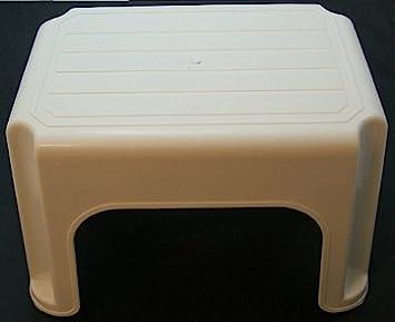 40cm High Plastic Step Stool - Cream & 40cm High Plastic Step Stool - Cream: Amazon.co.uk: Kitchen u0026 Home islam-shia.org