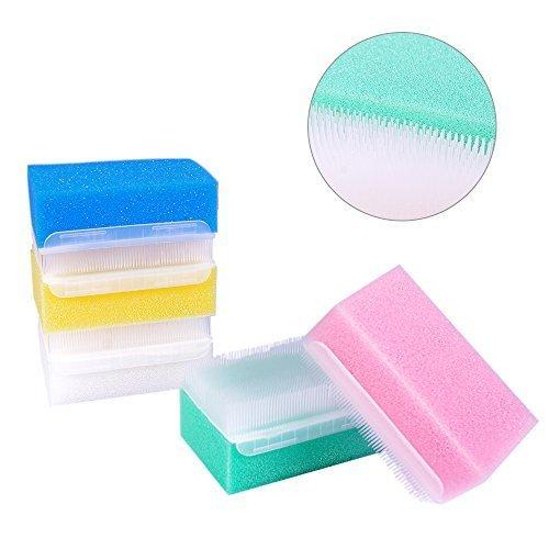 Sterile Sensory Sponge Bristle Brush,5 Count by Merlilive