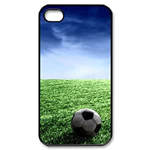 DIYCASETORE Diy Hard Shell Case Football Customized Bumper Plastic case For Iphone 4/4s