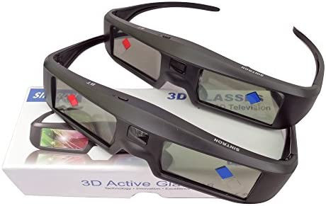 2 X  Samsung SSG-5100GB Active 3D Substitute for Epson RF3D Glasses  ELPGS03