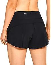 VANTONIA Women's Lightweight Running Shorts Athletic Sports Workout Shorts with Back Zip Pocket