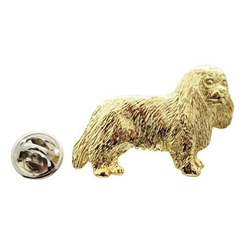 Sarah's Treats & Treasures Cavalier King Charles Pin ~ 24K Gold ~ Lapel Pin