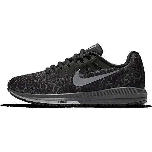 Nike Women's Air Zoom Structure 20 Running Shoe (9, Anthracite/Wolf Grey/Fire Pink/White)