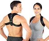 Durable One Size Fits All Back Posture Corrector for Men and Women | Upper Back Pain Relief | Perfect for Work & Exercise | FDA Approved