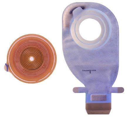 COLOPLAST Filtered Ostomy Pouch Assura AC EasiClose 2-3/4'' Stoma Drainable (#14359, Sold Per Box)