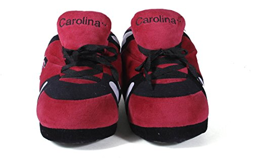 OFFICIALLY Carolina Gamecocks Sneaker NCAA South Womens Men's Feet LICENSED College and Happy Slippers PwCIqTU