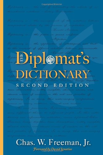Diplomat's Dictionary: Second Edition (Cross-Cultural Negotiation Books)