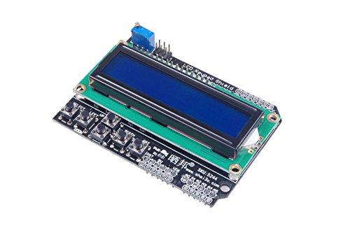 Lcd Keypad New (KNACRO LCD1602 Expansion Board Module Display LCD Keypad Shield)